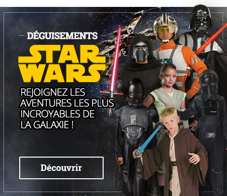 Déguisements Star Wars