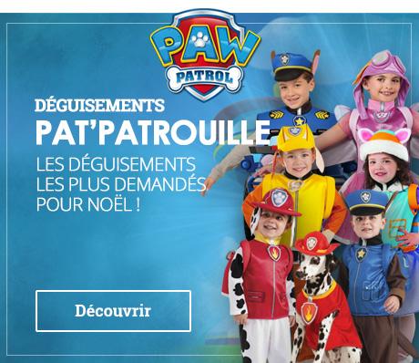 Déguisements Pat' Patrouille