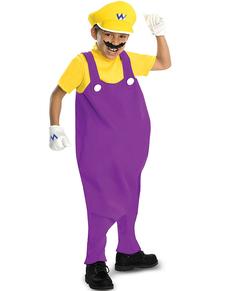 Costume de Wario haut de gamme pour garçon