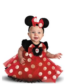 Costume de Minnie Mouse haut de gamme pour bébé
