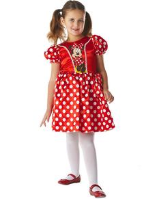 Costume de Minnie Mouse Classique Rouge pour fille
