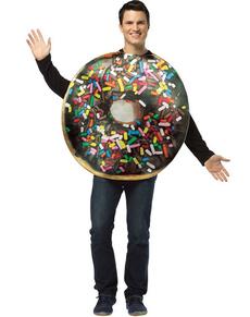 costume donuts au chocolat
