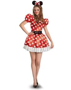 Costume de Minnie Mouse rouge pour femme