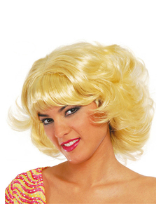 Perruque coupe moderne blonde