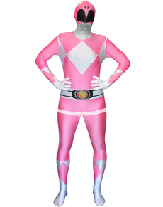 Déguisement Power Rangers Rose Morphsuit
