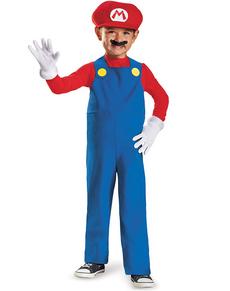Costume de mini Mario Bros prestige pour garçon