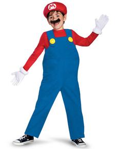 Costume de Mario Bros prestige pour garçon