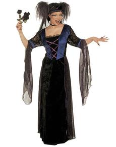 Déguisement de princesse gothique pour femme grande taille