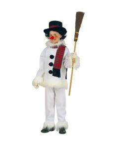 Costume bonhomme de neige pour enfant