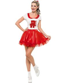 Costume Sandy pompom girl pour femme