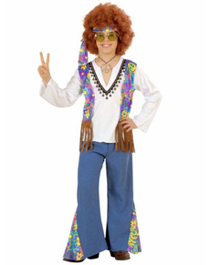 Déguisement hippie Woodstock Festival garçon