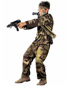 Déguisement militaire Forces Spéciales garçon