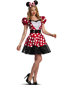 Costume Minnie Mousse rouge glam femme