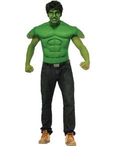 T-shirt Hulk Marvel musclé adulte