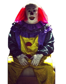 Déguisement de clown classique de l'horreur