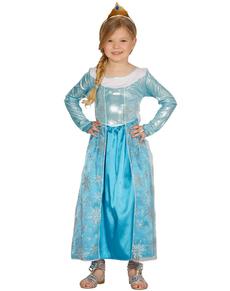 Déguisement princesse de glace fille