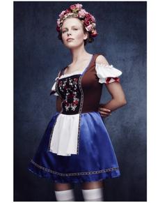 Déguisement bavaroise intéressante femme