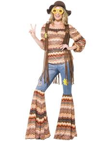 Kit costume femme hippie