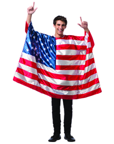 Déguisement drapeau Etats-Unis homme
