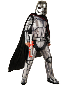 Costume Capitaine Phasma Star Wars Épisode  7 deluxe femme