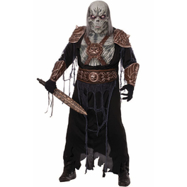 Masque guerrier Ghoul zombie