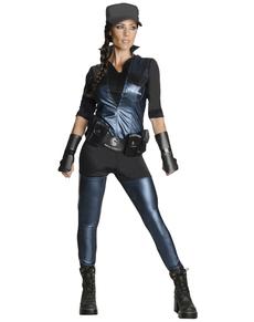 Costume Sonya Blade Mortal Kombat deluxe femme