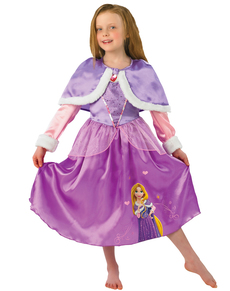 Costume Rapunzel Winter fille