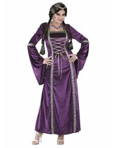 Déguisement princesse médiévale femme