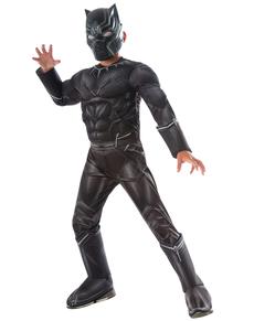 Costume Panthère Noire Captain America Civil War deluxe enfant
