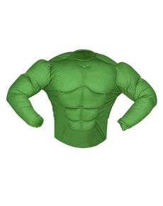 Chemise muscle verte enfant