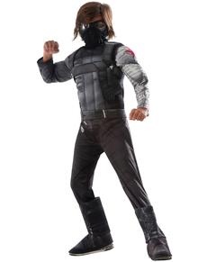 Costume Soldat de l'Hiver Captain America Civil War deluxe enfant