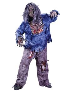 Déguisement monstre zombie terrifiant homme
